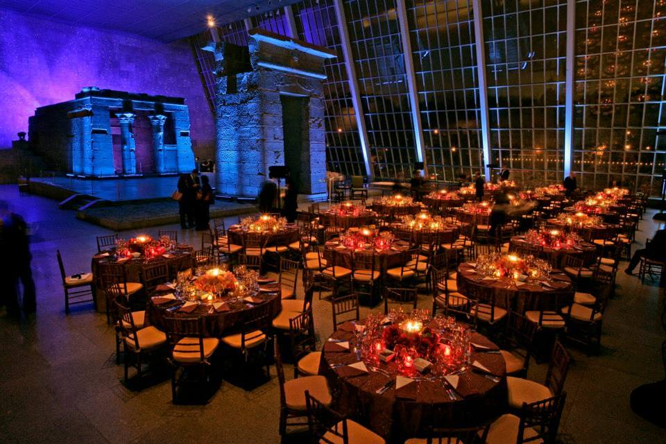 The Temple of Dendur - Metropolitan Museum of Art - Catering and Decor