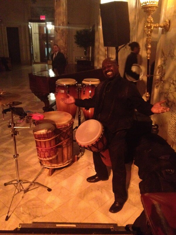 Djembe John with Dj Shiran at metropolitain club nyc - Nicholson Events Event Planning NYC, Fairfield CT, Hamptons, Weddings, Bar Mitzvah, Bat Mitzvah, Corporate Events, Sweet 16, Event DJs, Bands