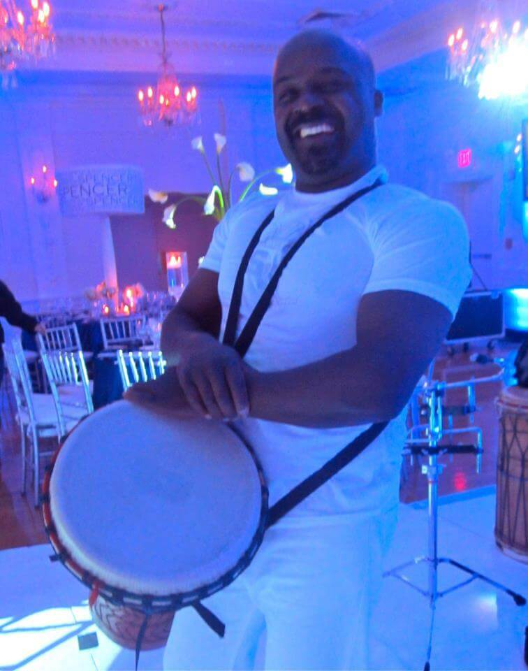Nicholson Events, Performer, Live, Artist, Musician, New York City, djembe Event Planning NYC, Fairfield CT, Hamptons, Weddings, Bar Mitzvah, Bat Mitzvah, Corporate Events, Sweet 16, Event DJs, Bands