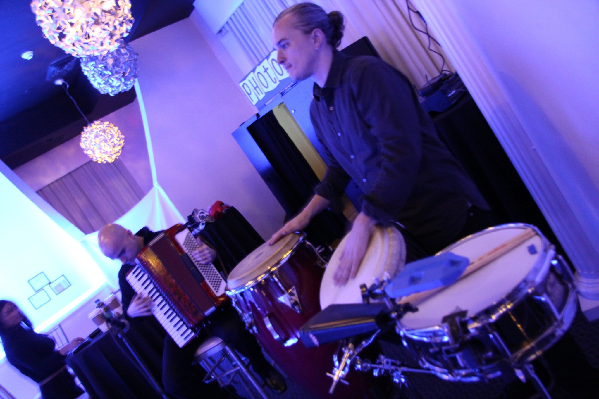 Percussionist with Congas