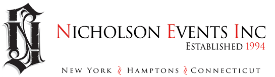 Nicholson Events, New York, Hamptons, Connecticut, Event Planning & Entertainment Event Planning NYC, Fairfield CT, Hamptons, Weddings, Bar Mitzvah, Bat Mitzvah, Corporate Events, Sweet 16, Event DJs, Bands