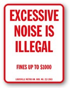 Noise Ordinance Sign, Silent Party, Quiet Club Event Planning NYC, Fairfield CT, Hamptons, Weddings, Bar Mitzvah, Bat Mitzvah, Corporate Events, Sweet 16, Event DJs, Bands