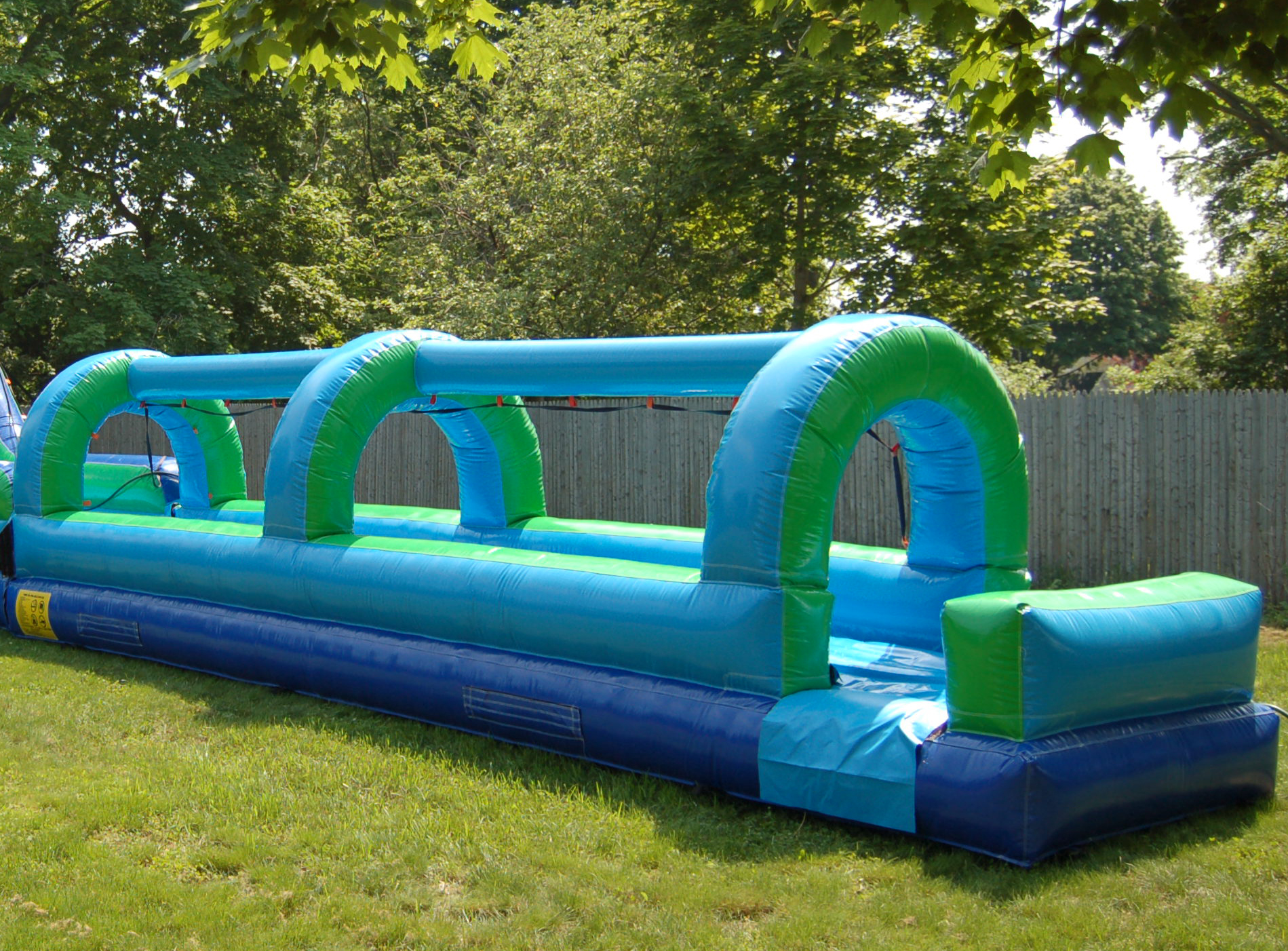 slip & Slide, Slip n' Slide, Giant Water Slide, 23' Slip n' Slide Event Planning NYC, Fairfield CT, Hamptons, Weddings, Bar Mitzvah, Bat Mitzvah, Corporate Events, Sweet 16, Event DJs, Bands