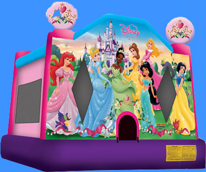 Disney Princess Bounce House Event Planning NYC, Fairfield CT, Hamptons, Weddings, Bar Mitzvah, Bat Mitzvah, Corporate Events, Sweet 16, Event DJs, Bands
