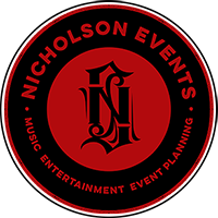 Nicholson Events, Music, Entertainment, Event Planning. New York, Fairfield County, Westchester, The Hamptons, Long Island Event Planning NYC, Fairfield CT, Hamptons, Weddings, Bar Mitzvah, Bat Mitzvah, Corporate Events, Sweet 16, Event DJs, Bands