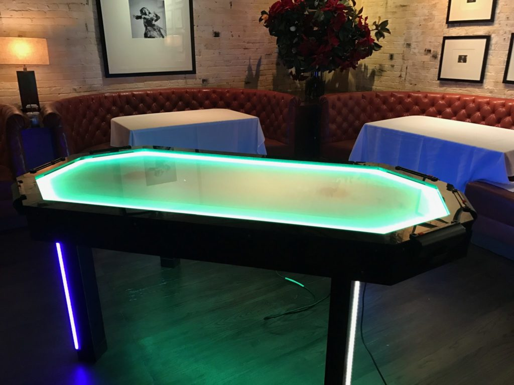 ... 6 Player LED Air Hockey Table Event Planning NYC, Fairfield CT,  Hamptons, Weddings ...