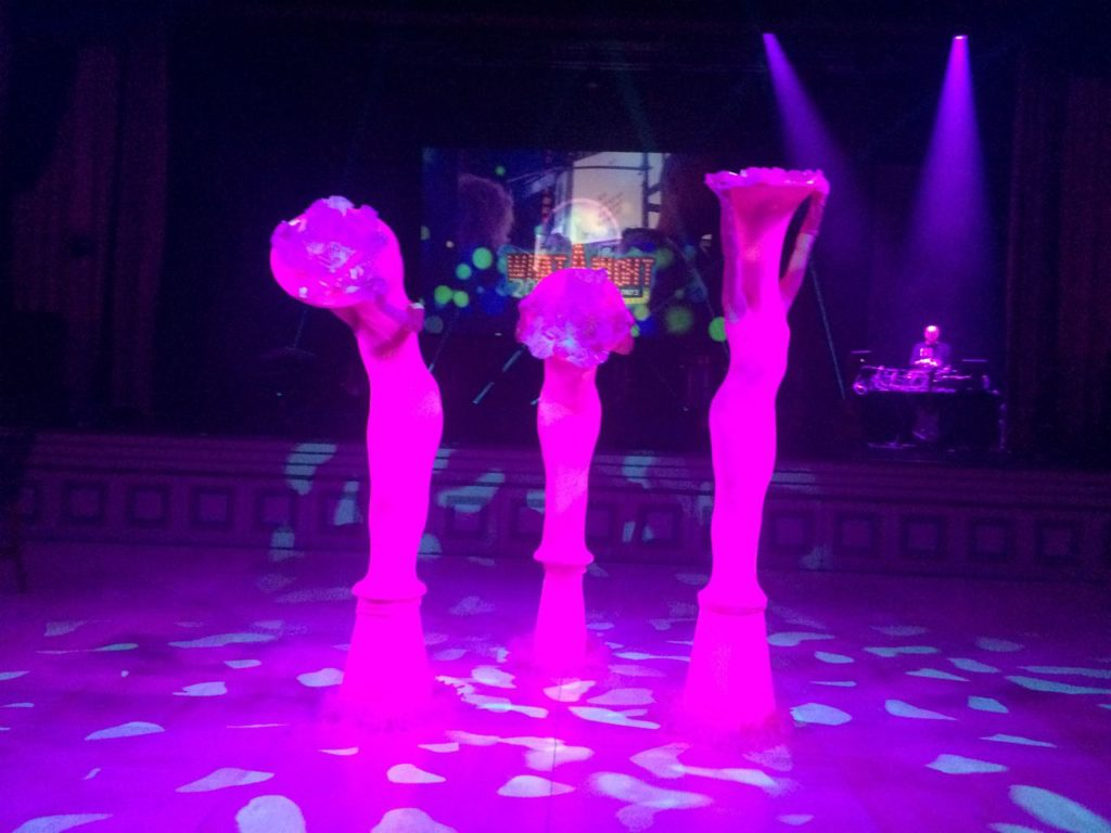 Living Statues Glow in the Dark Flowers Event Planning NYC, Fairfield CT, Hamptons, Weddings, Bar Mitzvah, Bat Mitzvah, Corporate Events, Sweet 16, Event DJs, Bands